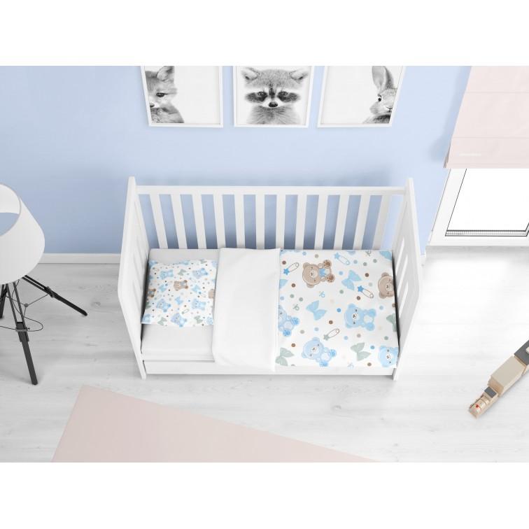 Комплект бебешки чаршафи Мечо - Baby Bear