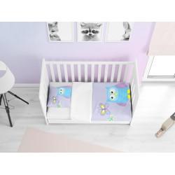 Бебешко спално бельо Бухалче - Owl