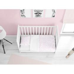 Памучно бебешко спално бельо Малко бебе Розово - Little baby pink