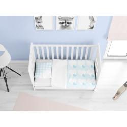 Бебешки чаршафи от памук Момченце - Newborn baby boy