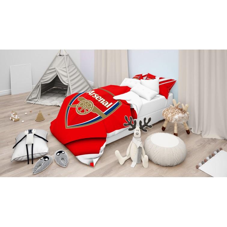 Детско Спално бельо с олекотена завивка Арсенал - Arsenal