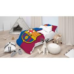 Детско Спално бельо с олекотена завивка Барселона - FC Barcelona