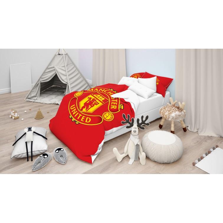 Футболно Спално бельо с олекотена завивка Манчестър Юнайтед - Man United