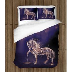 Спално бельо 3D със завивка Магически кон - Magic Water Horse