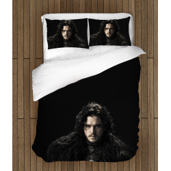Спално бельо със завивка Игра на тронове Принц Егон - Game Of Thrones John Snow