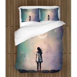 Спално бельо Момиче през нотщта - Girl In The Night