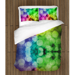 Финно 3D спално бельо Кръгове - Abstract Rounds