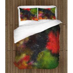 Спално бельо със завивка 3D Абстрактни цветове - Abstract Colors