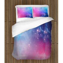 Цветно 3Д спално бельо Галактика - Abstract Galaxy