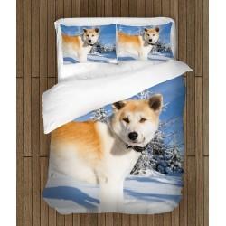 Спален комплект за легло Акита Ину - Akita Inu
