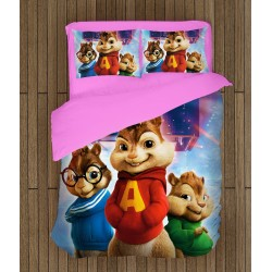 Детско спално бельо Алвин и чипоносковците - Alvin and the Chipmunks