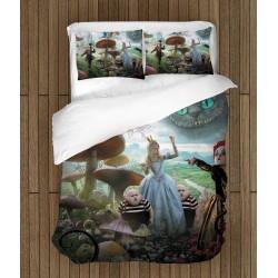 Спално бельо Алиса в страната на чудесата - Alice in Wonderland