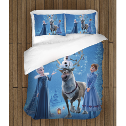 Комплект спално бельо със завивка Принцеси - Princesses