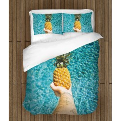 Модерно спално бельо Ананас - Pineapple