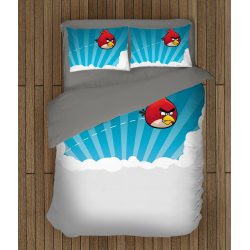 Спално бельо Енгри Бърдс - Angry Birds