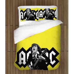 Фенско спално бельо Ангъс Йънг - Angus Young AC/DC