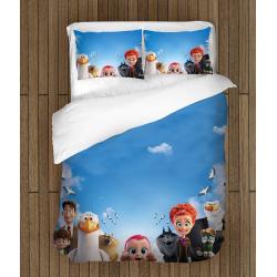 Детско спално бельо Щъркели - Stork Animation