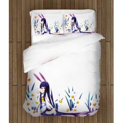 Спално бельо със завивка 3D Момиче - Girl
