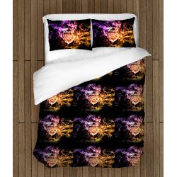 Футболно спално бельо със завивка 3D Арсенал - Arsenal