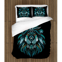 Комплект авангардно спално бельо Лъв - Art Leo