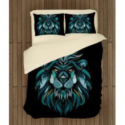 Спално бельо със завивка 3D Арт лъв - Art Leo