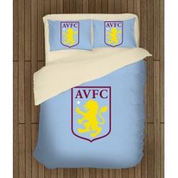 3D футболно спално бельо Астън Вила - Aston Villa