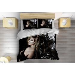 Спално бельо с олекотена завивка Аврил Лавин - Avril Lavigne