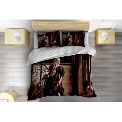 Спален комплект със завивка Аврил Лавин готик - Avril Lavigne Gothic