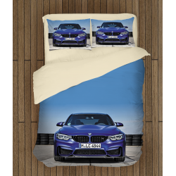 Спален комплект чаршафи с БМВ - BMW Blue