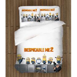 Спален комплект чаршафи с Миньоните - Despicable Me