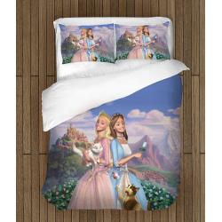 Спално бельо със завивка Барби Принцеси - Barbie Princesses