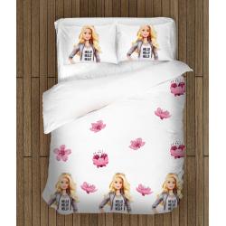 Спално бельо със завивка Барби -  Barbie Doll
