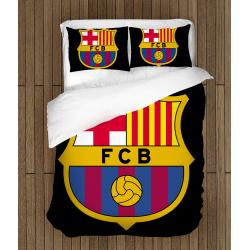 Футболно спално бельо със завивка 3D Барселона - Barcelona