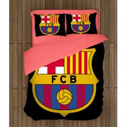 Спално бельо ФК Барселона - Barcelona Black