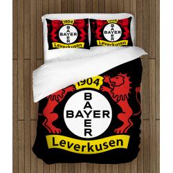 Футболно спално бельо със завивка 3D Леверкузен - Leverkuzen