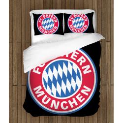 Футболно спално бельо със завивка 3D Байерн Мюнхен - Bayern Munchen
