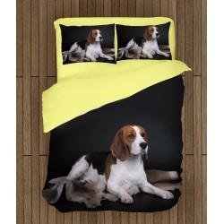 Спално бельо с куче Бигъл - Beagle