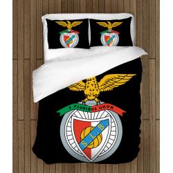 Футболно спално бельо със завивка 3D Бенфика - Benfika