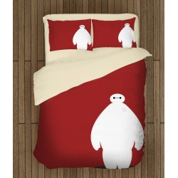 Детски спален комплект Героичната шесторка в червено - Big Hero Red