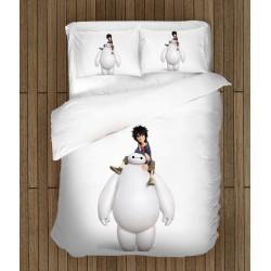 Детски спален комплект Героичната шесторка в бяло - Big Hero White