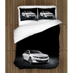 Комплект Спално бельо със завивка коли Пежо - Peugeot