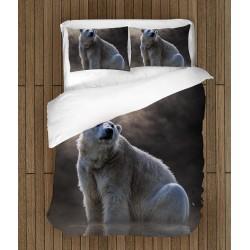 Ефектен спален комплект Бяла мечка - White Bear