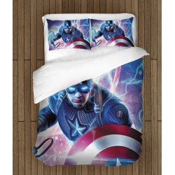 3D спално бельо Капитан Америка - Captain America