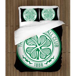 Футболно спално бельо със завивка 3D Селтик - Celtic