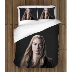 Спално бельо със завивка 3D -  Игра на тронове Церсей - Game Of Thrones Cersei