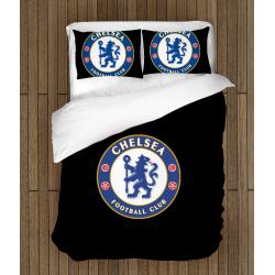 Футболно спално бельо със завивка 3D Челси 2 - Chelsea Ball