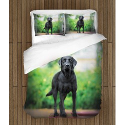 Спално бельо Черен Лабрадор - Black Labrador