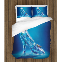 Спално бельо 3D със завивка Пепеляшка - Cinderella
