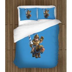 3D спално бельо Clash Royale