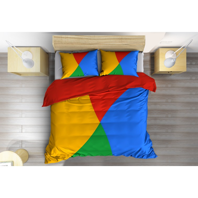 Арт спално бельо 3D Цветове - Colors